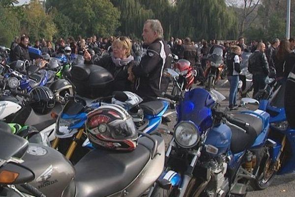 Plusieurs centaines de motards se sont donnés rendez-vous ce samedi au Parc Expo de Caen