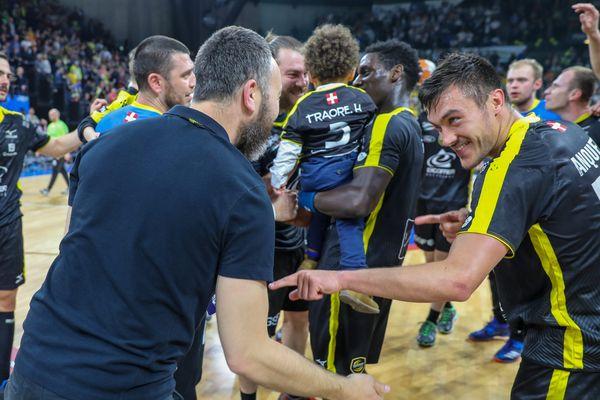 Chambéry avait battu Montpellier en demi-finale de la Coupe de France.