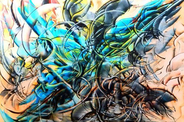 L'artiste d'art contemporain Pierre-Paul Marchini expose huit de ses oeuvres au port Charles Ornano d'Ajaccio jusqu'au 8 août.