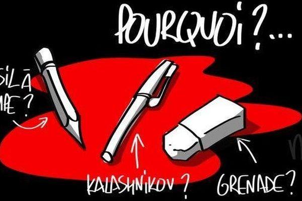 L'attentat contre Charlie Hebdo, sans précédent dans la presse, a stupéfié les médias en France