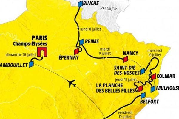 En 2019, c'est la quatorzième fois que le Tour de France passe par Mulhouse.