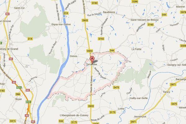 La couche de revêtement de la RD933 va être refaite entre le 26 et 28 août à hauteur de la commune de Simandre.
