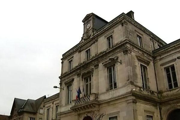 L'hôtel de ville de Clamecy (archives)