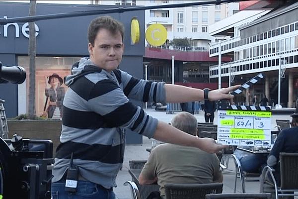 Tournage à Rennes du film Bitter Flowers du réalisateur belge Olivier Meys