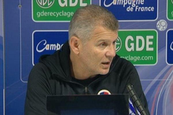 Patrice Garande entraîneur du stade Malherbe de Caen