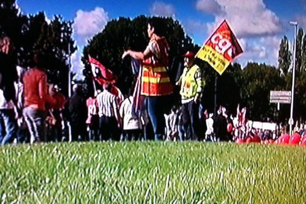 Selon nos sources, environ 500 personnes ont défilé mardi dans les rues de Bourges