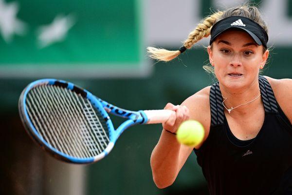 Grande détermination de Clara Burel dans le 3e tour de Roland Garros 2020
