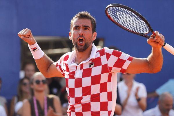 Marin Cilic sera le leader de l'équipe de Croatie, qui affrontera la France en finale de Coupe Davis du 23 au 25 novembre au stade Pierre-Mauroy.