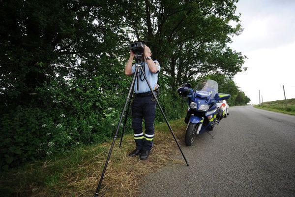 Le week-end des 27 et 28 février, les gendarmes du Puy-de-Dôme ont suspendu 33 permis de conduire. Photo d'illustration.