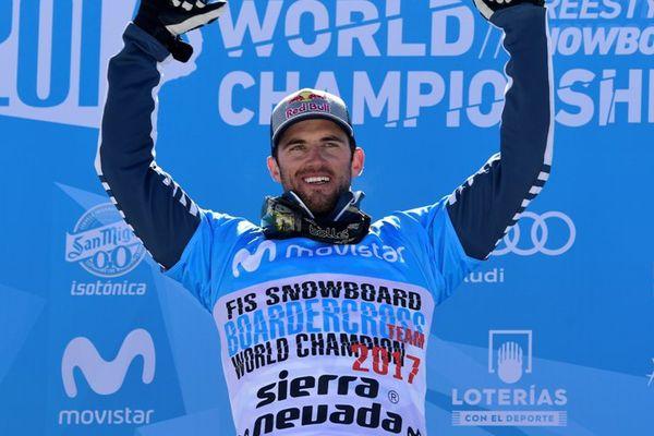 Pierre Vaultier champion du monde de snowboardcross en Espagne