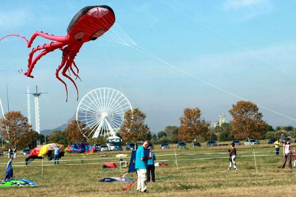 La Base nature en 2011, pendant le festival de l'air et du vent.