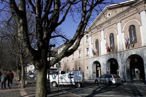 La mairie de Sallanches en Haute-Savoie