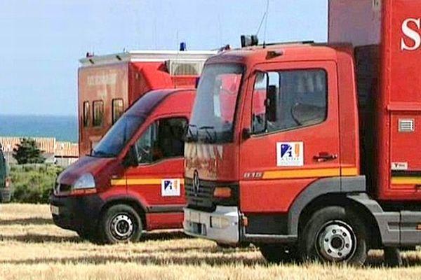 Les pompiers de l'Aude - 25 juin 2013.