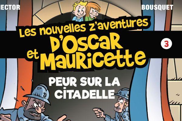 Le nouvel opus des aventures d'Oscar et Mauricette.