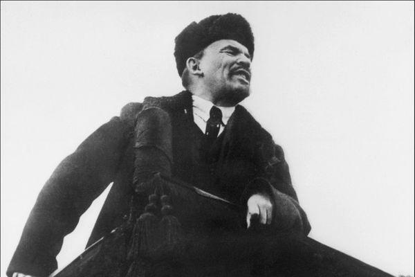Vladimir Lénine, leader de la Révolution bolchévique.