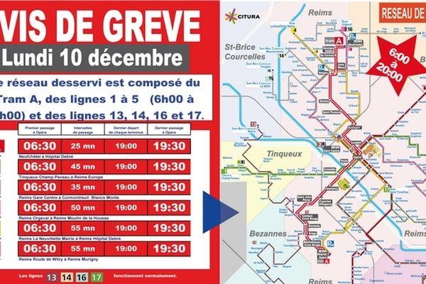Info grève Citura 10 décembre 2012