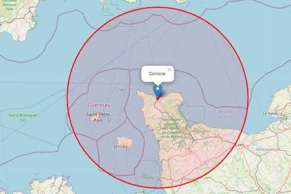 A 100 km de Cherbourg, je peux aller ici