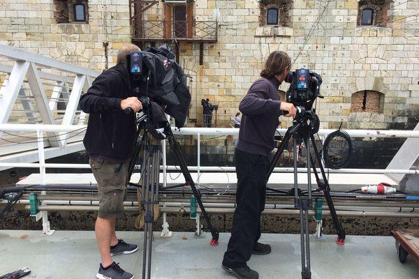 A Fort Boyard, le tournage des émissions va se poursuivre jusqu'à la fin du mois de juin.
