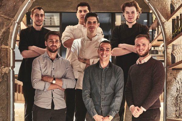 L'équipe du restaurant Culina Hortus est très jeune, et sensible aux difficultés rencontrées par les étudiants