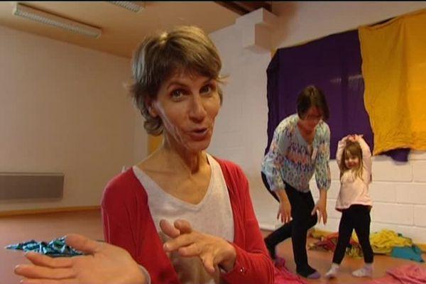 Florence Petit lors de l'émission Vu d'ici à Couthenans