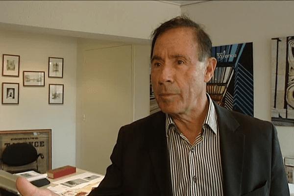 L'ancien maire de Talence, Alain Cazabonne,
