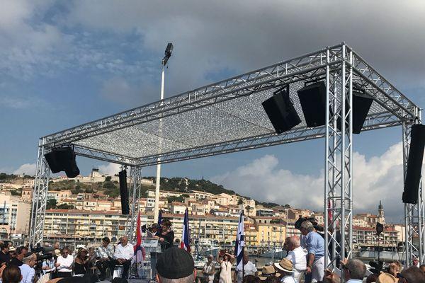 300 personnes ont participé à la commémoration de l'odyssée de l'Exodus, ce dimanche matin à Sète. Certains rescapés qui étaient à bord du bateau il y a 70 ans avaient fait le voyage exprès depuis Israel.