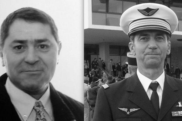 Pascal Fauret à gauche et Bruno Odos à droite