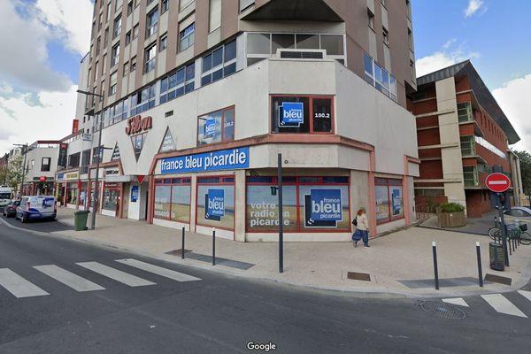 La devanture de France Bleu Picardie à Amiens