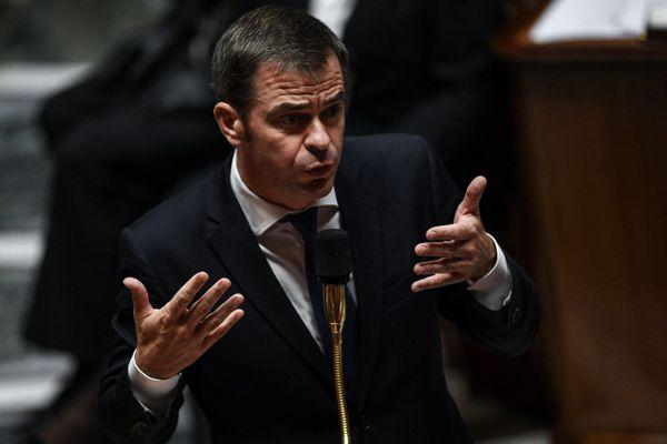 Le ministre de la Santé Olivier Véran à l'Assemblée Nationale, le 6 octobre 2020.