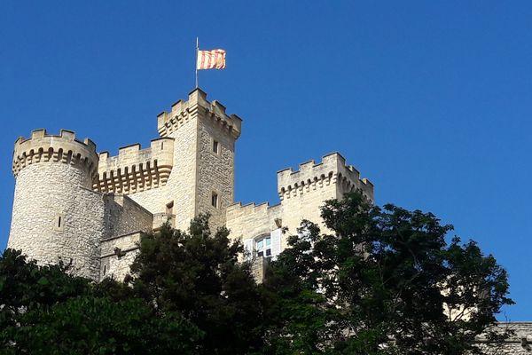 Le château de La Barben, site emblématique de Rocher Mistral