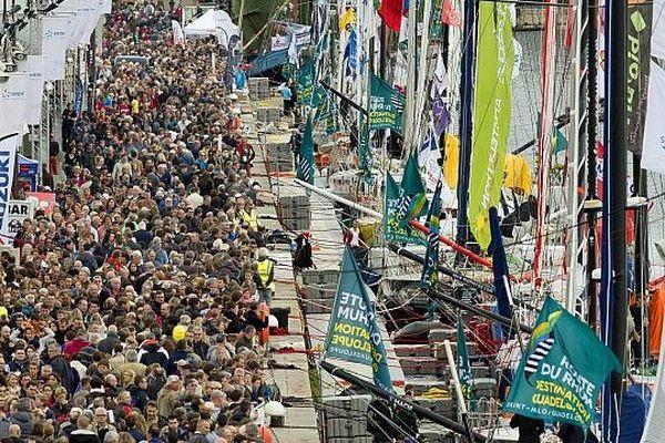 La 10e Edition de La Route du Rhum à destination de la Guadeloupe.91 skippers seront sur ligne de départ qui partira le 2 novembre de Saint -Malo pour Pointe à Pitre.