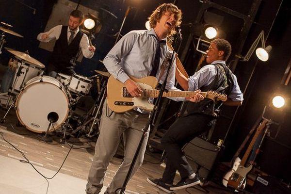 The Steady Rollin' Men dans le Backstage
