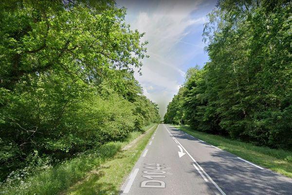 L'accident a eu lieu sur la D1044 au niveau de Laon sur l'axe entre Saint-Quentin et Reims