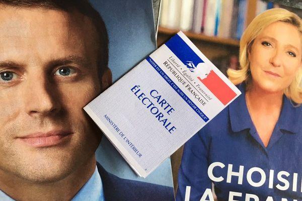 Présidentielle 2017 - Emmanuel Macron et Marine Le Pen au coude-à-coude en Corse