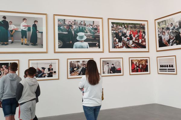 Le Frac a prévu tout un parcours pour apprécier les 14 séries photographiques