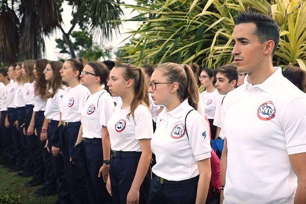 Le youtubeur Tibo InShape s'est rendu en Guyane afin de réaliser une vidéo promotionnelle du Service national universel pour le gouvernement.