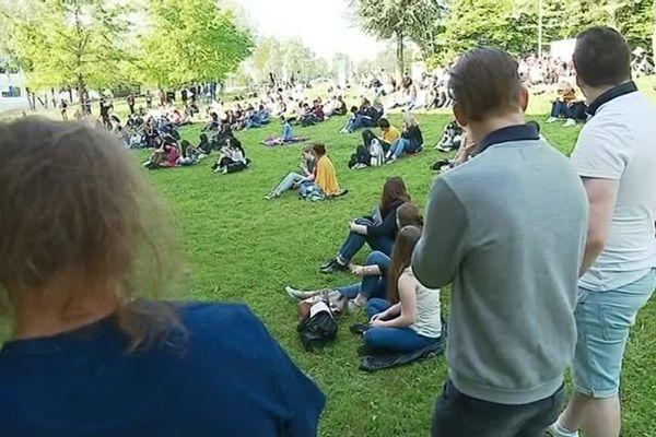 Le blocage de la fac de Lettres continue à Limoges