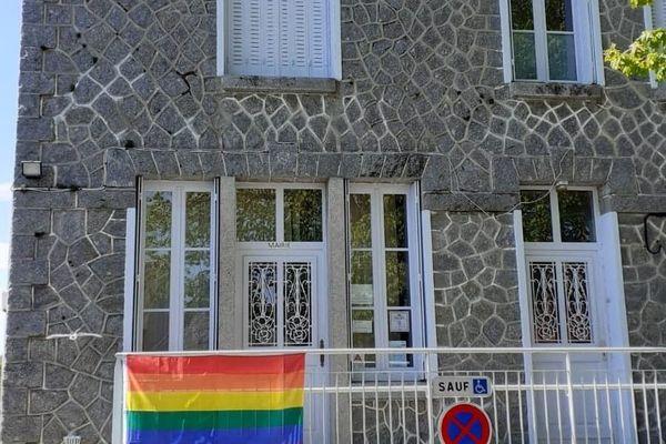 La commune de St-Christophe dans la Creuse s'associe à la journée internationale de lutte contre l'homophobie