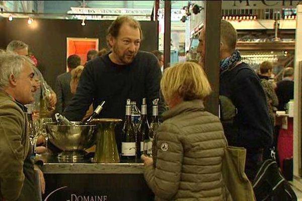 Stands de Vinisud à Montpellier février 2016
