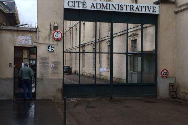 La cité administrative de Nancy.