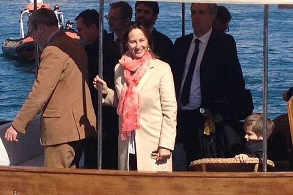 La ministre de l'Environnement Ségolène Royal à Sète à l'occasion d'Escale à Sète - 26 mars 2016