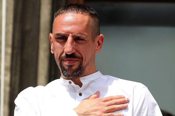 Franck Ribéry à Munich en mai dernier.
