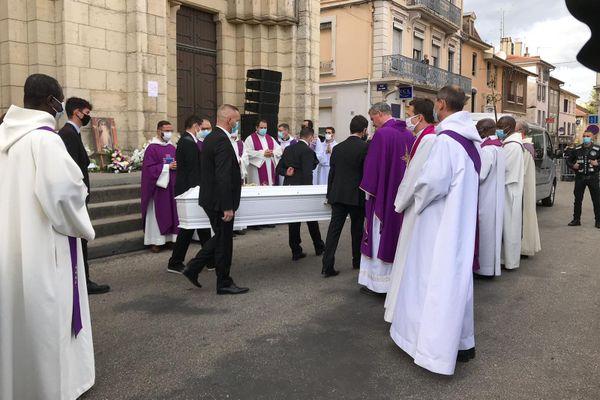Les obsèques de Victorine Dartois étaient célébrées ce mercredi à Bourgoin-Jallieu.