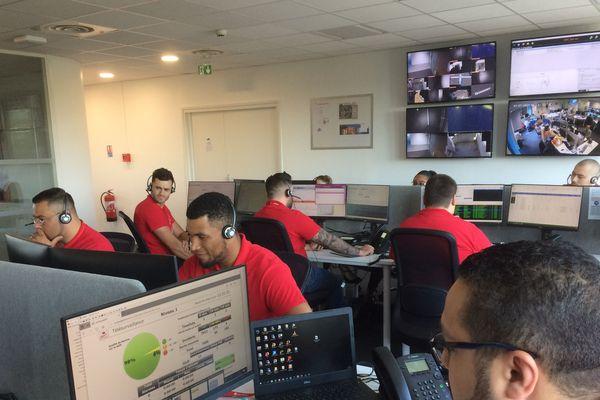 Le centre Vérisure à Angers, juin 2019