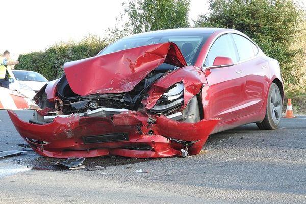 illustration d'accident de la route