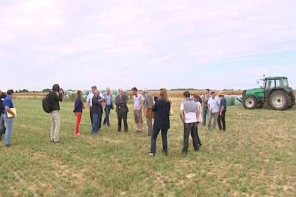 Le préfet d'Eure-et-Loir assure vouloir travailler avec les exploitants agricoles.