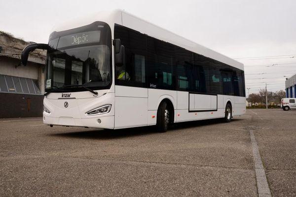 L'un des nouveaux bus propres de Strasbourg