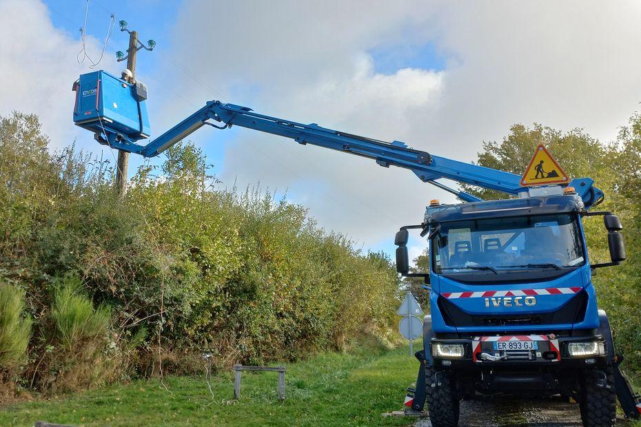 Gros coup vent en Limousin, 3500 foyers privés d'électricité
