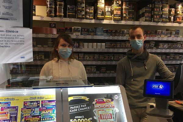 Tabac presse Le Balto à Saint-Nazaire, 25 mars 2020
