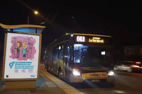 Les bus Chrono circulent jusqu'à 1 h 30 du matin